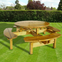 Highland 8 Seat Picnic Table