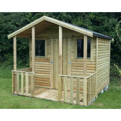 Log Summerhouse