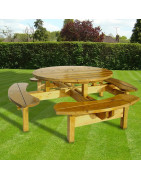 8 Seat Picnic Table